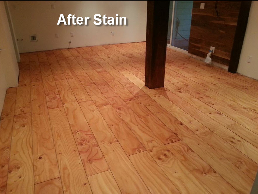 Turning Plywood Into Rustic Flooring Part 2 Building